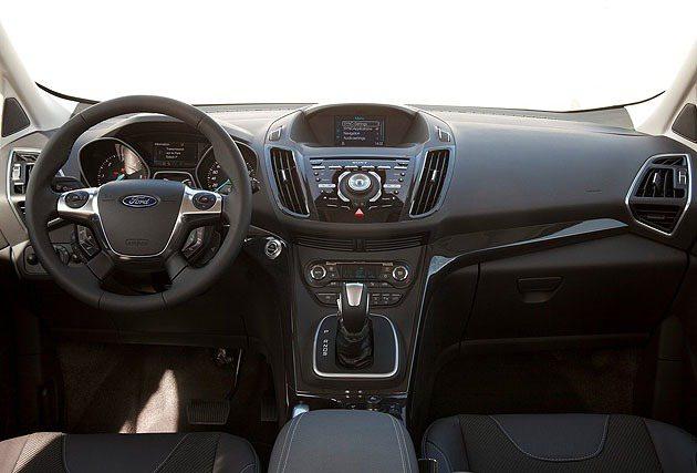 內裝部分以SYNC系統為科技主軸。 Ford