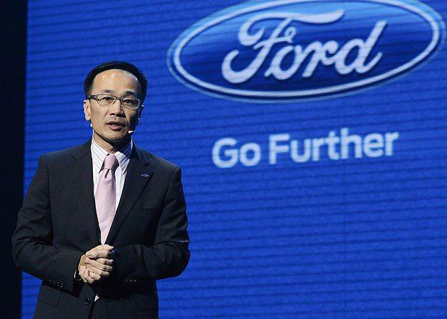 福特六和汽車總裁范炘。 蔡志宇