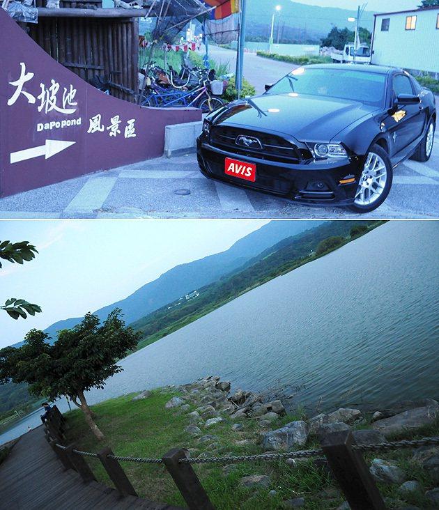 大波池是日暉飯店周遭的知名景點之一。 蔡志宇