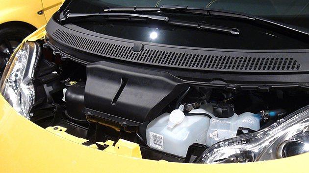 cityflame搭載999西西直列3缸自然進氣引擎,最大馬力71匹。 趙惠群