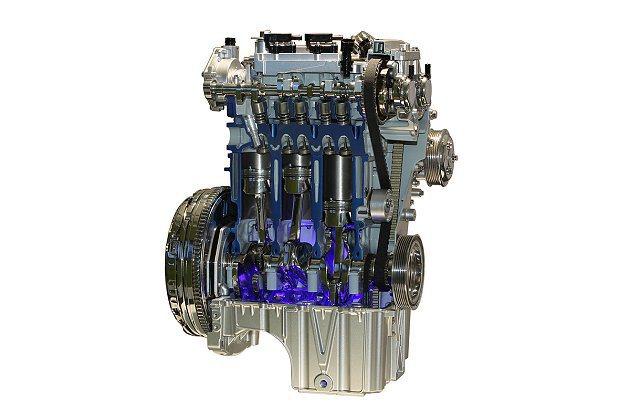 小排氣兼具大馬力的強悍表現,EcoBoost引擎忠實體現Downsizing概念...