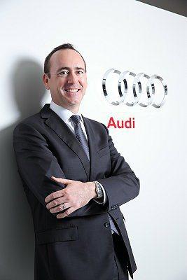 經歷豐富的Edward Butler接任台灣奧迪行銷總監職務。 Audi提供