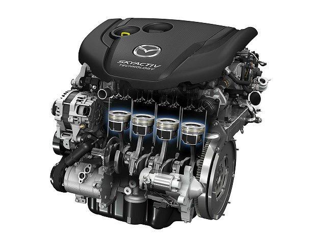 SKYACTIV-D 2.2升新世代柴油引擎能輸出充沛動力,並達到更完美燃燒效率...