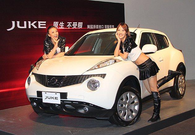 8月底前入主Nissan Juke,可獲贈Juke原生創作積木模型車。 Niss...