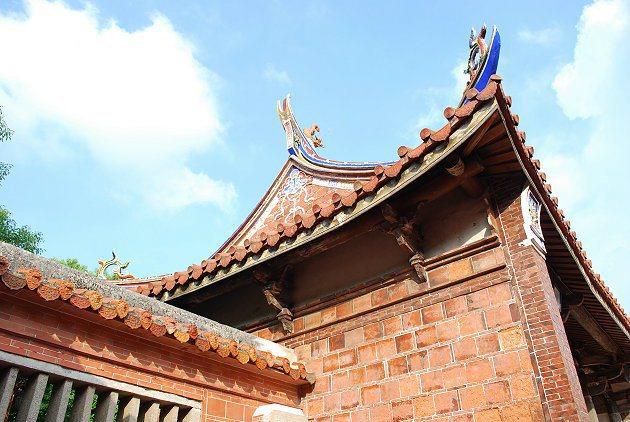 文武廟的山門。 記者趙惠群/攝影