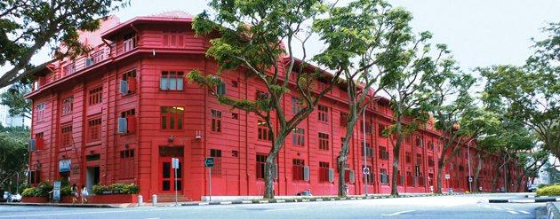 新加坡的紅點設計博物館是旅客必看的行程。 Red Dot