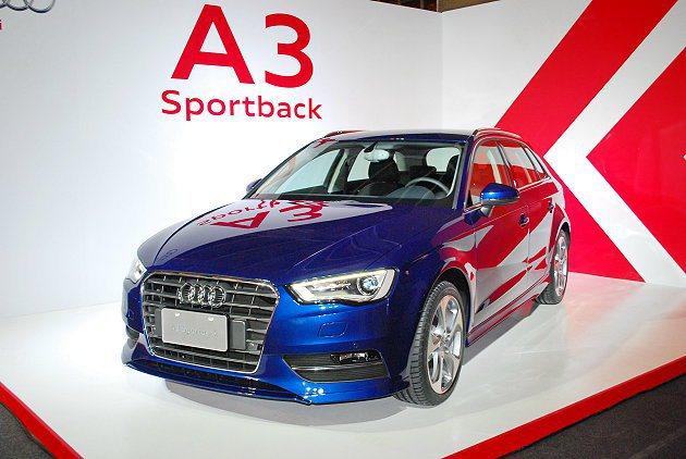 A3 Sportback 1.4 TFSI。 記者趙惠群/攝影