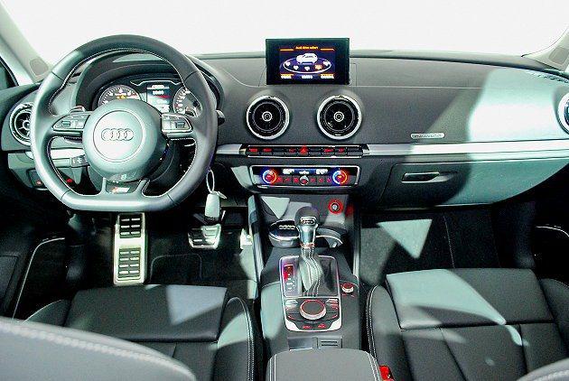 A3 Sportback號稱具有最潮的內裝與外觀。 記者趙惠群/攝影