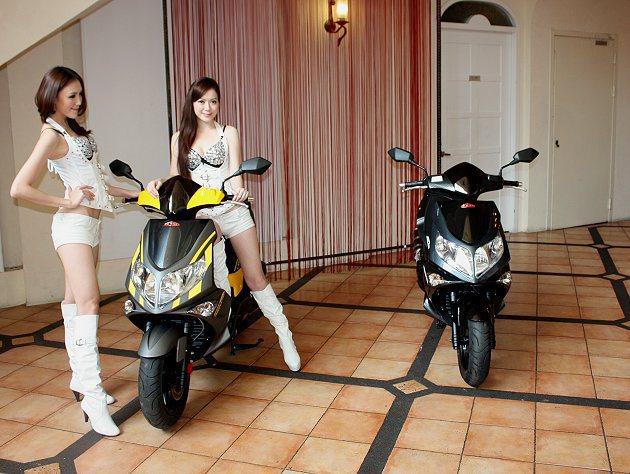 G-MAX 150水冷的動力與加速都提升。 記者林和謙/攝影