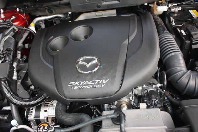 SKYACTIV-D 2.2升柴油引擎。 記者林和謙/攝影