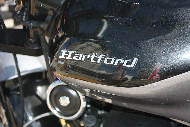 Hartford近年開始搶攻重機市場。 記者林和謙/攝影