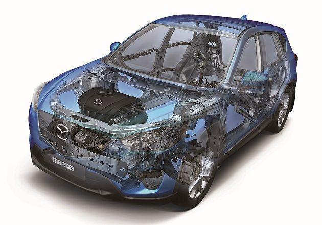 全車以SKYACTIV科技打造的Mazda第六世代跑旅CX-5,在性能、油耗、車...