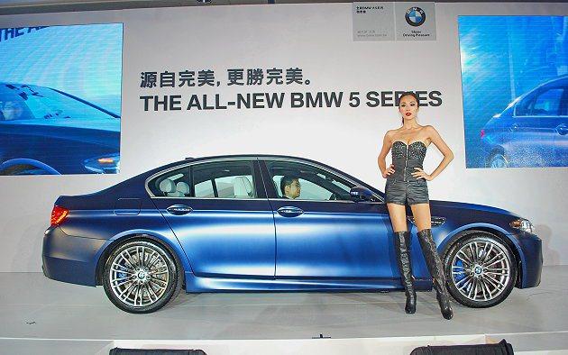車價部分,除了M5小漲,其餘車型不是持平就是向下調降。 記者趙惠群/攝影