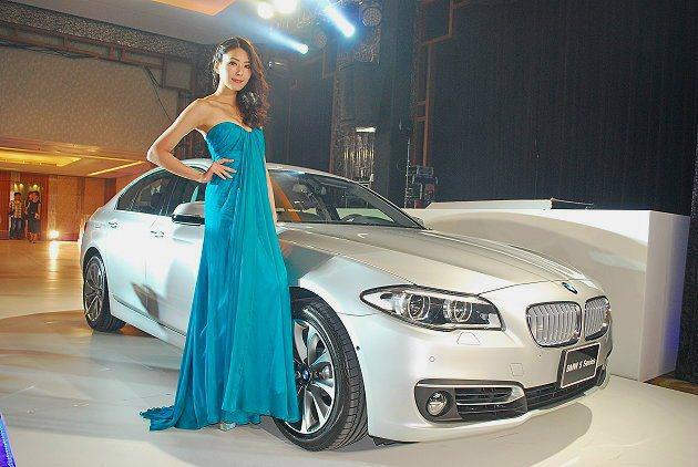 BMW 5系列魅力更具。 記者趙惠群/攝影