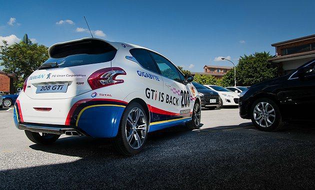 208 GTi Nurburgring 24小時耐久賽台灣式樣版充滿競技氛圍。 ...