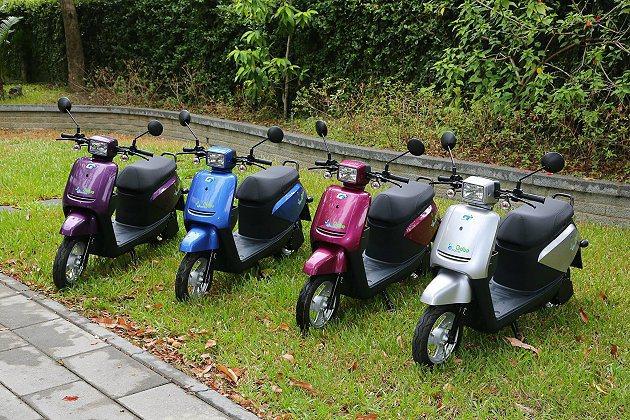 e-moving Bobe有4個車色可選。 中華汽車提供