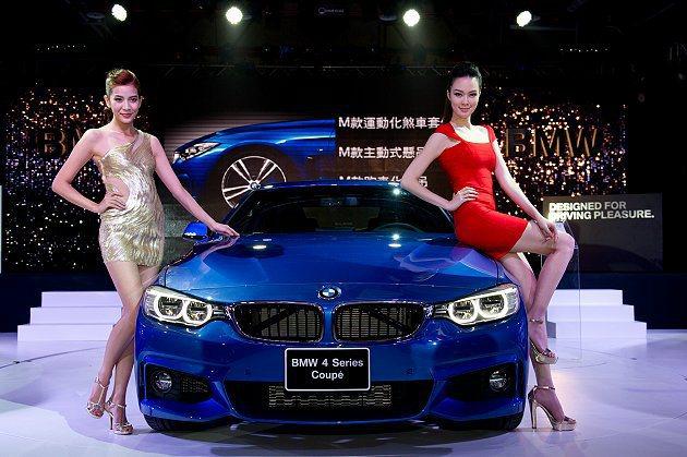 4系列雙門轎跑正式在台上市。 BMW提供