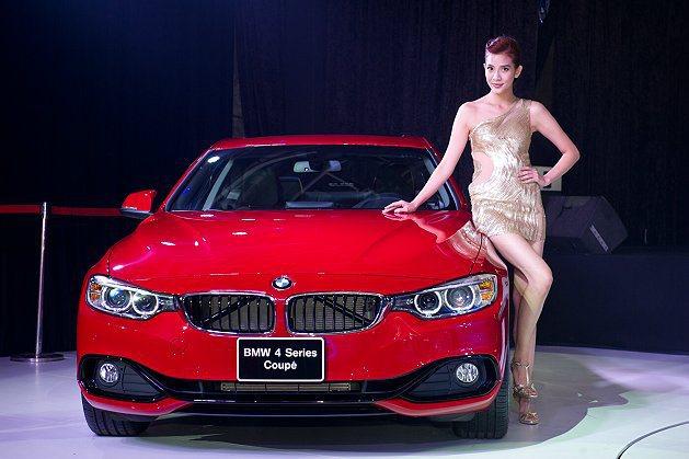 4系列轎跑展現強烈的裝飾性與時尚風。 BMW提供