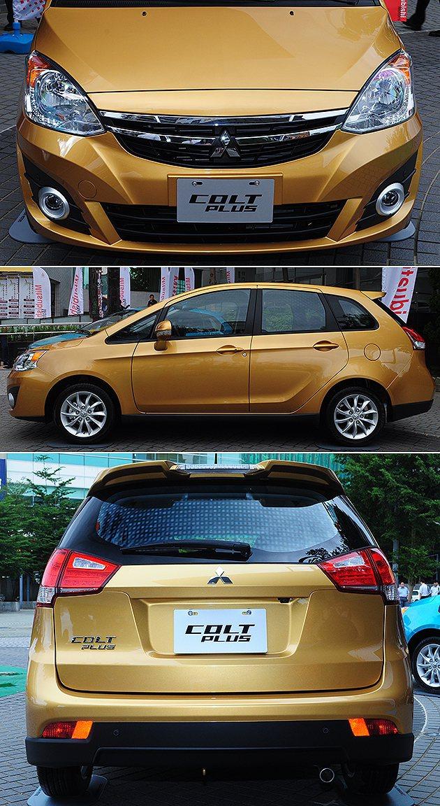 車頭與車尾的修改,讓身型不再是蛋蛋車。 蔡志宇