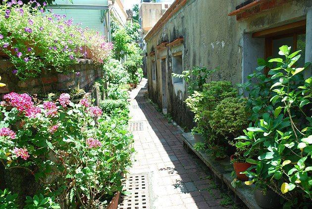 狹窄的茉莉巷。 記者趙惠群/攝影