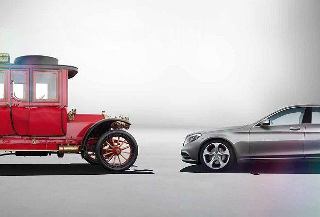 The new S-Class萬夫莫敵。 M-Benz 提供