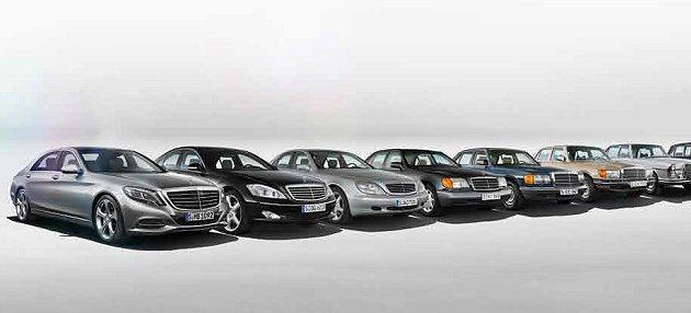S-Class經過百年進化,展現君臨天下的傲人氣度。 M-Benz提供