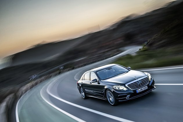 全新一代 S-Class即將登台。 M-Benz提供