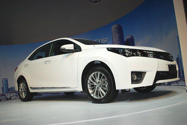 和泰汽車發表Toyota全新Corolla Altis。 記者趙惠群/攝影
