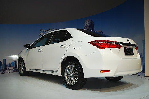 Corolla Altis車格向上提升。 記者趙惠群/攝影