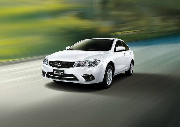 Lancer Gentle特仕車限量上市。 Mitsubishi提供