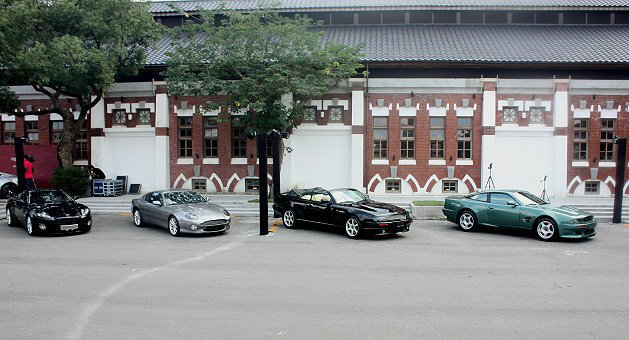 現場也展示多輛經典車。 記者林和謙/攝影