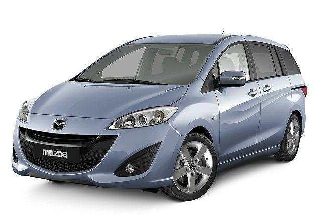 圖為 Mazda5 車型。 Mazda提供