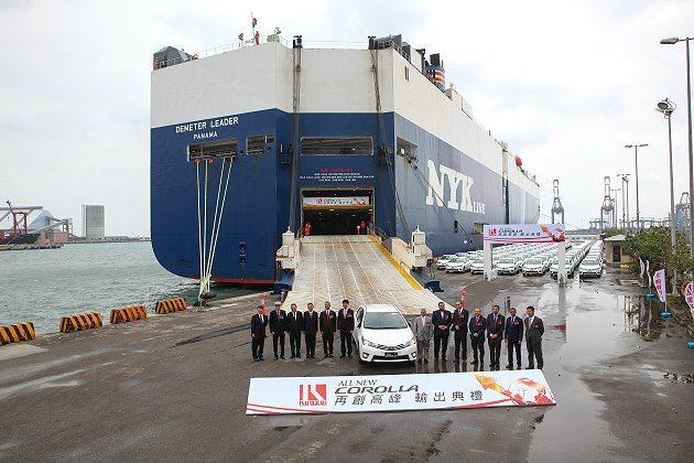 新世代Corolla至中東市場9個國家。 Toyota提供