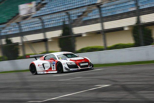李勇德參與Audi R8 LMS Cup亞洲巡迴統一規格賽事的戰馬。 記者趙惠群...
