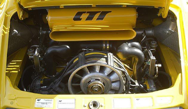 CTR的雙渦輪增壓引擎 RUF