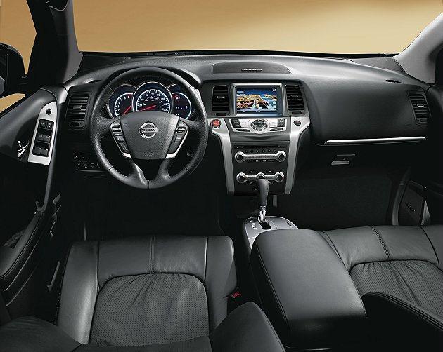 Nissan Murano秉持豪宅內裝設計概念,配備齊全實用。 Nissan提供