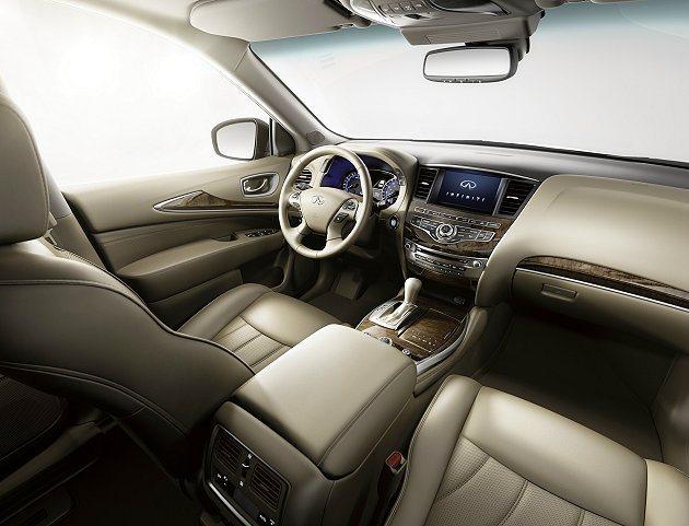 Infiniti QX60搭載新一代Sport-tuned CVT+ 運動化變速...
