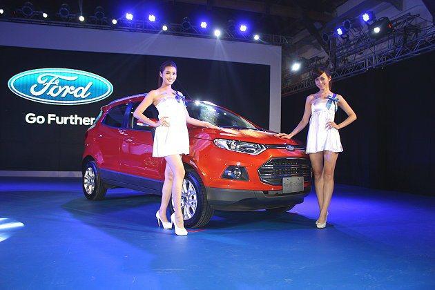 Ford在20日發表都會小型休旅車Ecosport,都會時尚車型為不到70萬的6...