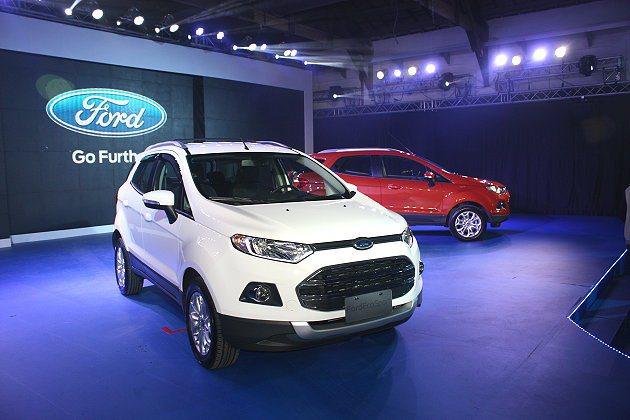 福特六和汽車看好Ecosport明年在國內有3000~4000台銷量。 記者林和...