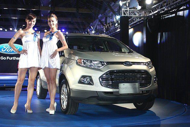 EcoSport讓Ford的產品線更豐富、多樣也更具競爭力。 記者林和謙/攝影
