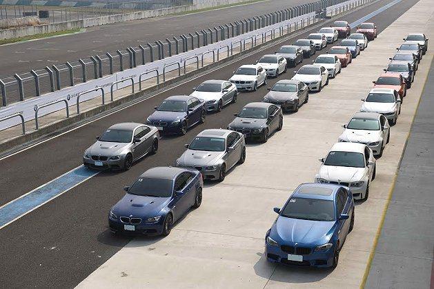 2013年BMW M Power Day 駕馭樂聚。 BMW提供