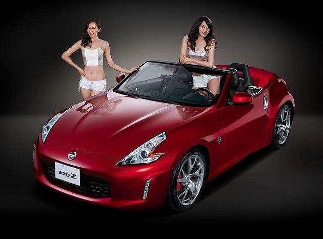擁有「Z」血統的NISSAN 370Z經典跑車。  Nissan提供