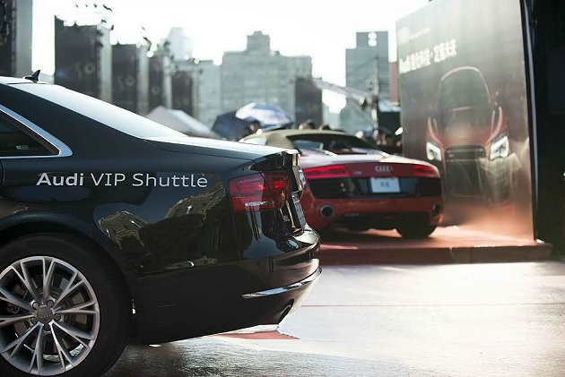 台灣奧迪汽車特別精心安排全新Audi A8豪華旗艦房車擔任豪華禮賓車隊。 Aud...