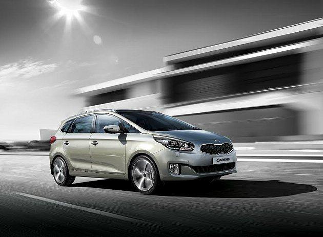 中型MPV休旅車Carens明年也將在台上市。 Kia提供