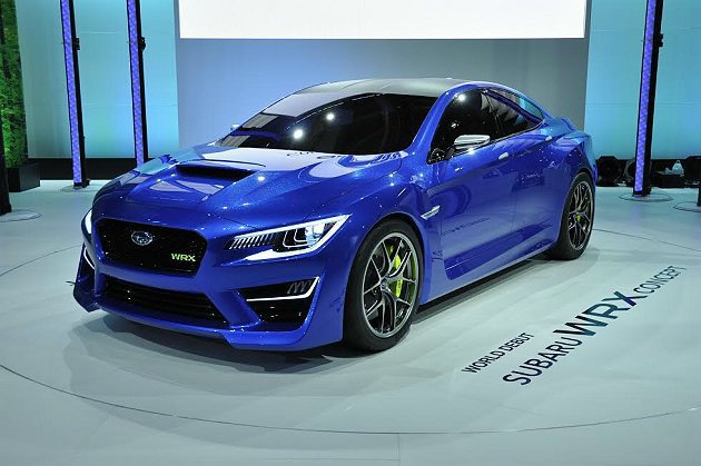台北車展將從日本空運來台全新WRX Concept概念車。 Subaru提供