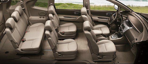 Stavic車長5130mm、3000mm軸距,可提供七人座全尺寸寬闊座椅及行李...