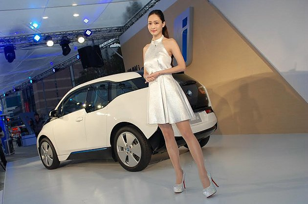 i3電動車引進台灣,公共充電站部份必須要政府規畫建設。 記者趙惠群/攝影