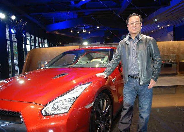 裕隆日產汽車協理李振成表示今年GT-R將爭取到20台的配額。 記者趙惠群/攝影