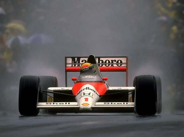 MP4/5賽車在1989~1990連續兩年奪得車隊、車手的雙料冠軍。 F1提供