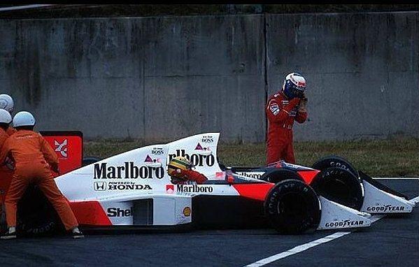 Senna與Alain Prost的競爭至今仍讓車迷難忘。 F1提供